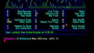 Amiga BBS - AmiExpress /X