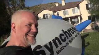 The Synchronet blimp - resurrected after 25 years